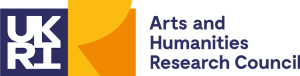 Logo of the UKRI Arts and Humanities Research Council